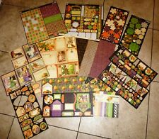 Graphic 45 An Eerie Tale Scrap Pack & Embellishments  RETIRED