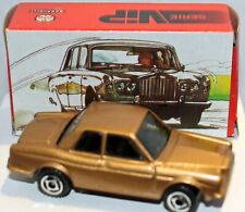 Baravelli Rolls Royce Silver Shadow in Gold MINT IN MINT BOX Rare