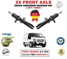 FOR FORD TRANSIT 2.3 16V 2.2 2.4 TDCi 2006-2014 FRONT LEFT RIGHT SHOCK ABSORBERS