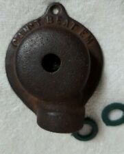 New listing Rare Model Antq.-Cast Iron Can'T Beat Em Yard/Garden Sprinkler, W/ Extra Washers