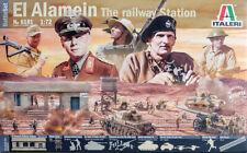 Schlacht von El Alamein Bahnhof Diorama Set 1:72 Model Kit Bausatz Italeri 6181