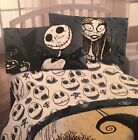 Disney The Nightmare Before Christmas Microfiber Full Bedding Sheet Set NIB!