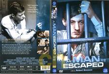 A Man Escaped (1956)-Robert Bresson, Francois Leterrier, Roland Monod   DVD NEW