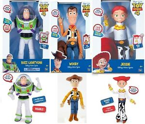 Disney Toy Story 4 Buzz Lightyear Sheriff Woody Jessie Talking Action 4+ Doll