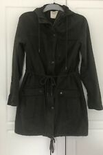 Abercrombie & Fitch WomenParka Coat Jacket Casual Green Cotton size S