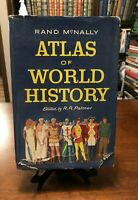 ATLAS OF WORLD HISTORY by R.R. Palmer (Rand McNally - 1957) HC