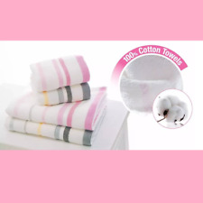 Cosway 100% Superfine Cotton Bath/Hand/Face Towel Lightweight Quick Dry FREESHIP