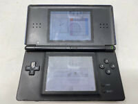 Nintendo DS Lite Blue/Black Handheld System For Parts Only repair broken as is