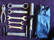 Yamaha RD400 genuine tool kit and tool bag RD250 D/E/F