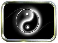 Ying Yang 2oz Gold Tobacco Tin, Stash Can, Storage Tin, Chinese ,Pill Box