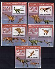 Comores - Dinosaures / Dinosaurier / Dinosaurs -  Biefmarken MNH** - Z16