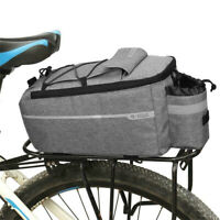 Pannier Rack Bike Seat Rear Pouch Luggage Carrier Tail Saddle Bag Shoulder Bag