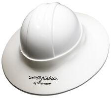 Construction Hard Hat Sun Visor WHITE 5-PACK