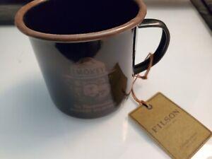 FILSON Smokey Bear Enamelware Camp Coffee Mug - RARE