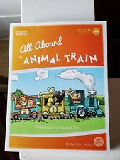 My Father's World Preschool * Student Sheets * All Aboard the Animal Train 3s