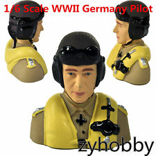 Miracle Hobby Accessories 1/6 Scale WWII Germany Pilot  RC Airplane Aircraft Toy