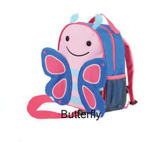 7eaa759726 Skip Hop Zoo Little Child Kid Toddler Safety Harness Backpack 2 Butterfly  Girl