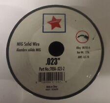 "MIG Welding Wire ER70S-6 Mild Steel Mig 2 Ib .023"" 1 Roll 70S6 2Ib Each Roll"