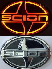 5D LED Car Tail Logo Red Light for Scion Auto Badge Light Emblems