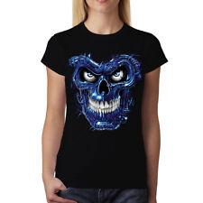 Terminator Skull Women T-shirt S-3XL New