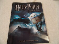 Harry Potter the Exhibition Official Exhibition Guide 2009 soft cover book NM