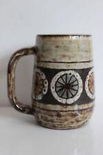 Mug tasse en céramique 1950 de Jean Claude Malarmey Vallauris era Perot Capron