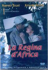 La Regina d'Africa (1951) DVD NUOVO Humphrey Bogart Katharine Hepburn J. Huston