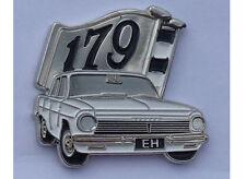EH Sedan white Car 179 Flag --  LAPEL / HAT PIN BADGE---  C040302
