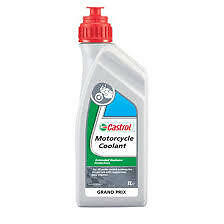 Motorcycle Castrol Coolant 1ltr Scooter moped Motorbike coolant