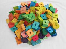 Bird Toy Parts, 125 pc. E Z CHEWS VARIETY BOX for Small or Medium-Sized birds.