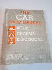 1986 Car Shop Manual Lincoln Town Car Ford Crown Victoria Mercury Grand Marquis