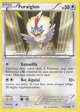 Furaiglon-Noir & Blanc- Dragons Exaltés - 111/124 -Carte Pokemon Française Neuve