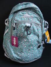 NWT High Sierra Fatboy Backpack Book Bag Girls School Tech Spot Pocket Leopard