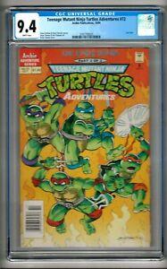 "Teenage Mutant Ninja Turtles Adventures #72 (1995) CGC 9.4  WP  ""NEWSSTAND"""