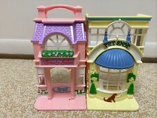 Fisher Price Sweet Streets Pet Shop Hair Salon House Dollhouse Building