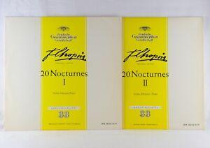 ASKENASE - CHOPIN 20 Nocturnes I + II    2x LP Deutsche Grammophon