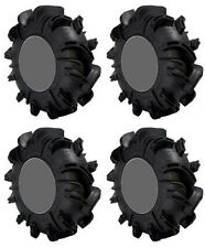 Four 4 Gorilla Silverback ATV Tires Set 2 Front 27x10-12 & 2 Rear 27x12-12