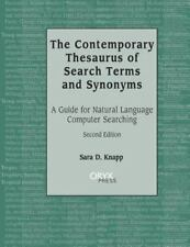 The Contemporary Thesaurus of Search Terms and Synonyms: A Guide for-ExLibrary