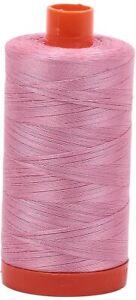 Aurifil 50WT Solid - Mako Cotton Thread - 1422 Yards Each Spoon