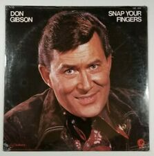 DON GIBSON Snap Your Fingers LP Hickory H3F 4509 US 1974 SEALED Country 06B