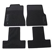 05-09 Ford Mustang All Weather Rubber Floor Mats Black PONY LOGO 6R3Z-6313300-A