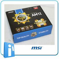 Placa base Mini ITX mITX MSI AM1i Socket AMD AM1 con Accesorios