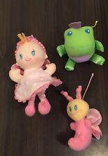 PLUSH TOYS for MOBILE - Baby, Frog & Bug