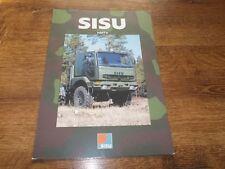SISU E11T Military Truck Brochure Prospekt Catalogue