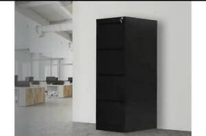 Black 4 Drawer Filing Cabinet BRAND NEW (Buy Now & Get 40% Off!)