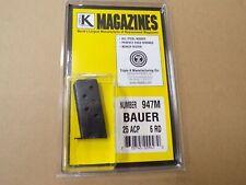 Bauer .25 ACP Magazine  by Triple K - Model 947M