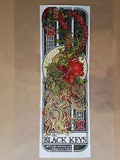 Black Keys Wellington NZ 12 Silkscreen Concert Poster Art Rhys Cooper Ltd Ed