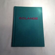 2016 SOLANGE Jewelry Aide-Memoire Visual Catalogue Book