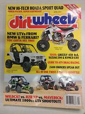 Dirt Wheels Magazine BMW & Ferrari Wildcat Vs RZR April 2014 032717nonR