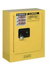 Justrite 890200 Sure-Grip EX Mini Flammable Safety Cabinet NIB